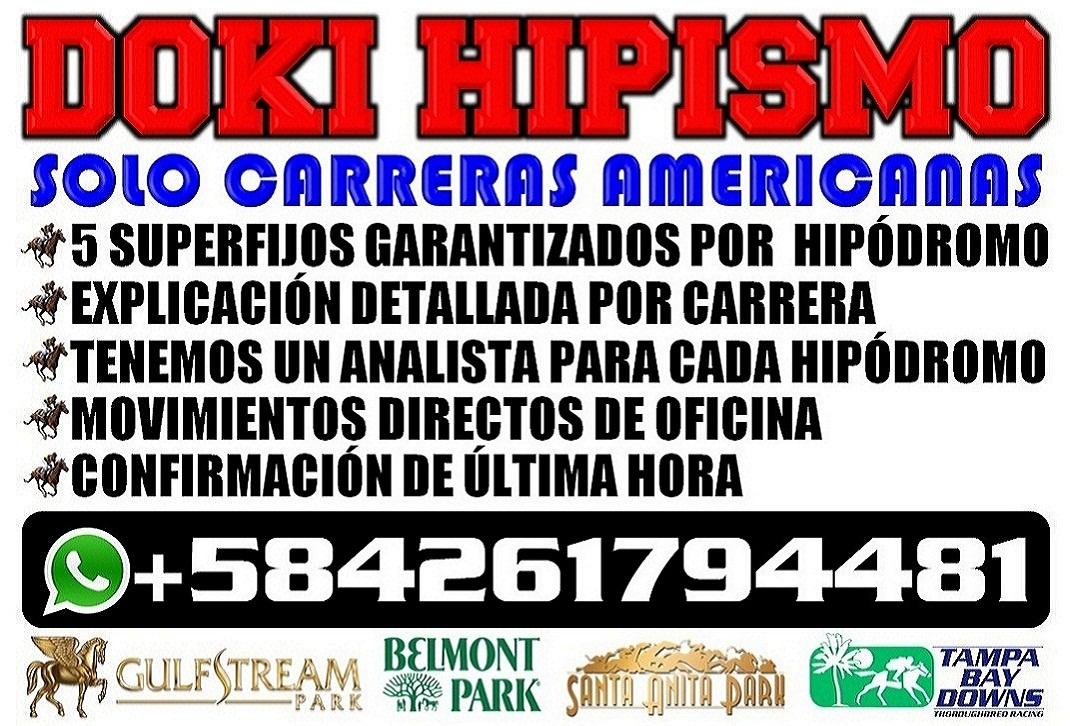 ALBERT MANZANARES PARLEYS DOKI CUANTOACUANTO PARLEY HIPISMO RESULTADOS HIPICOS LOTERIAS Y ANIMALITOS A18 3